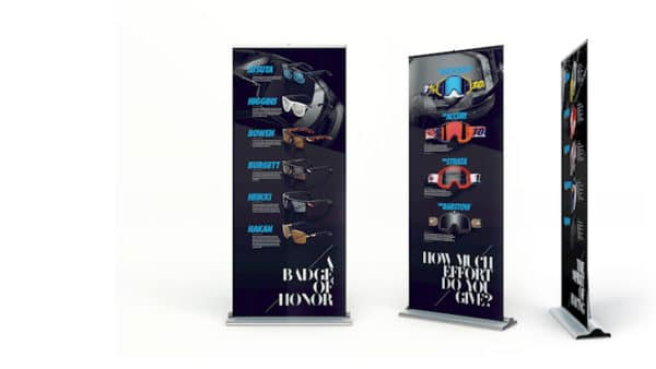 Roll Up Displays
