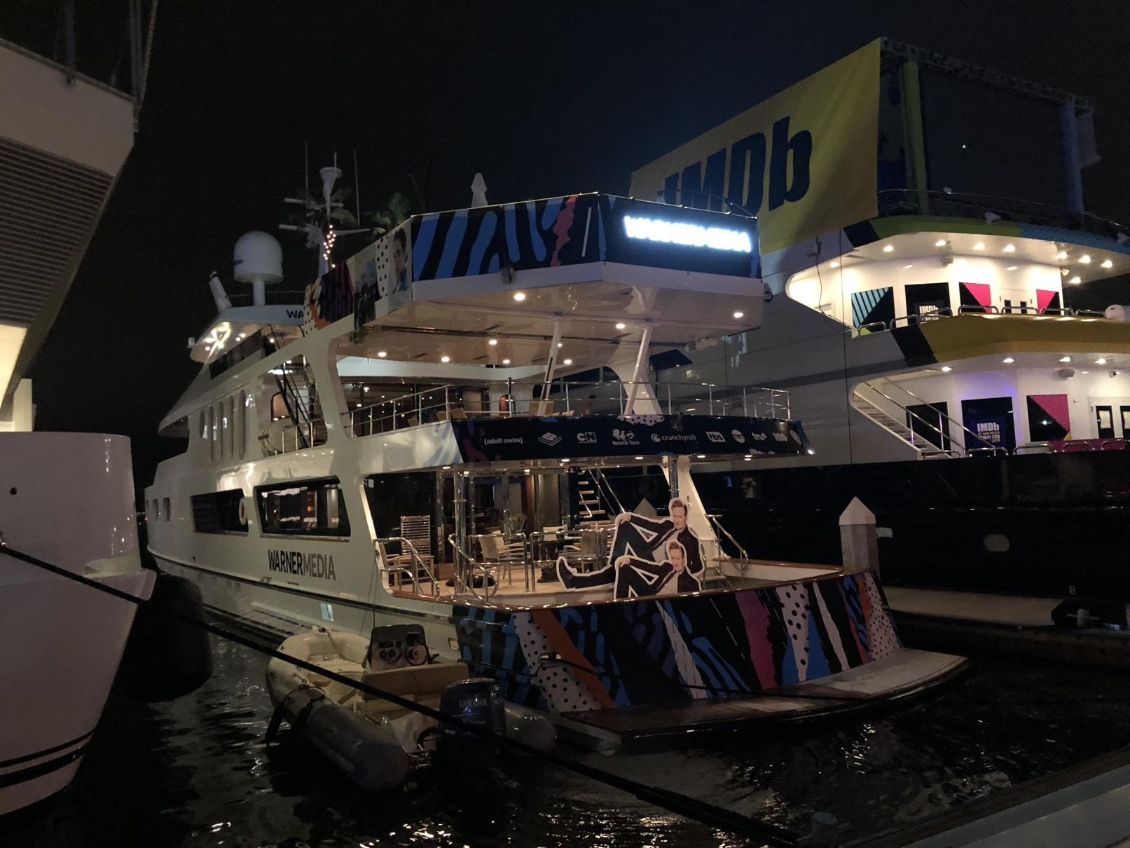 Comic Con Boat Graphics
