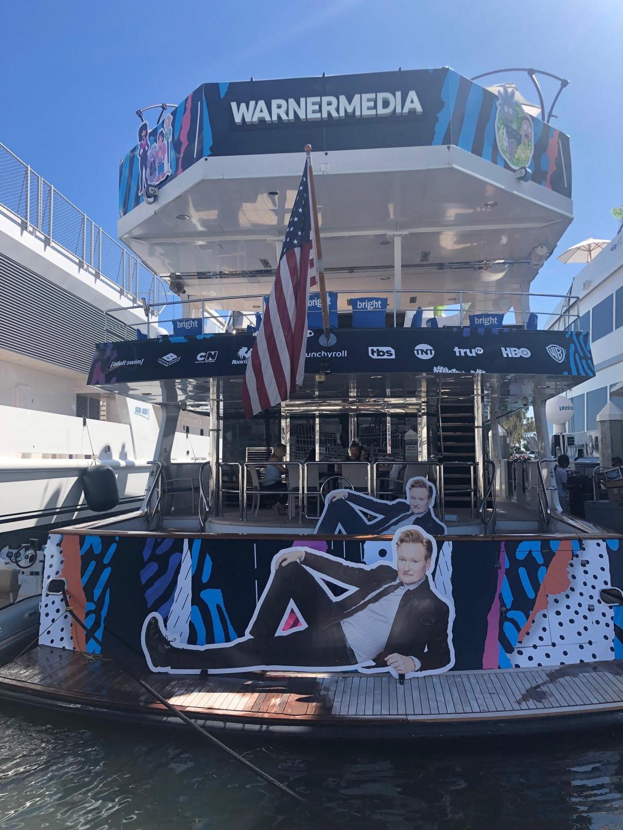 Comic Con Conan Yacht