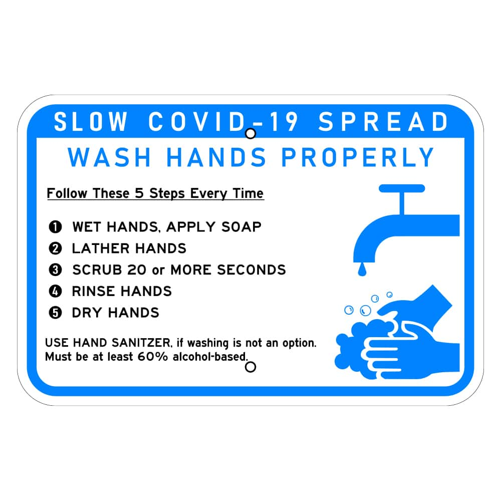 Covid-19-Hand-washing-signs
