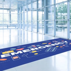 Floor Graphics Banner